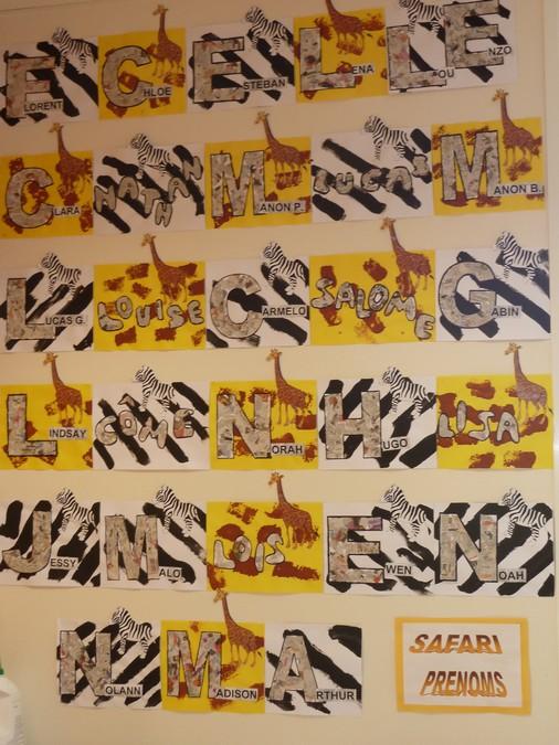 Ecole saint jean st jean de monts arts visuels sur l - Animaux afrique maternelle ...